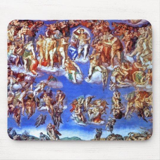 Fresco Of The Last Judgement Mousepad