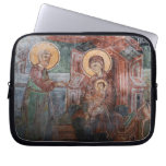 Frescoes from the 14th Century Serbian Church, 2 Laptop Sleeve