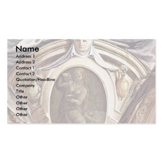 Frescoes In The Chapel Of Eleonora Da Toledo Double-Sided Standard Business Cards (Pack Of 100)