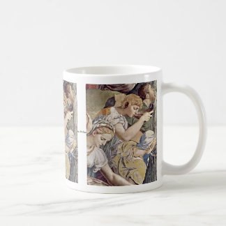 Frescoes In The Chapel Of Eleonora Da Toledo Basic White Mug
