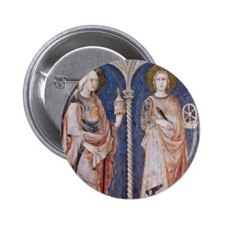Frescoes With Scenes From The Life Of St. Martin Pins
