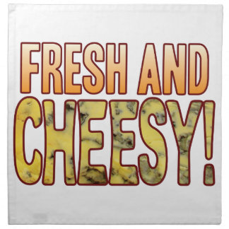 Fresh And Blue Cheesy Napkins