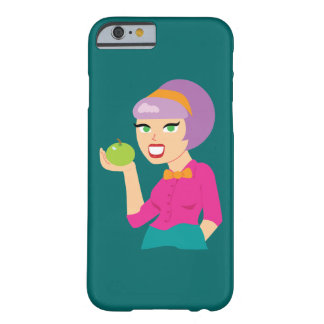 Fresh Apple Retro Nutritionist iPhone 6/6s Case Barely There iPhone 6 Case
