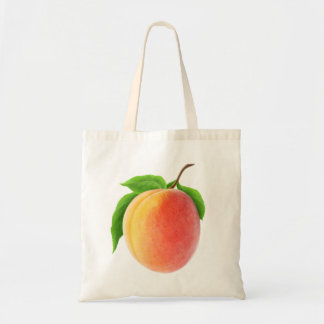 Fresh apricot tote bag