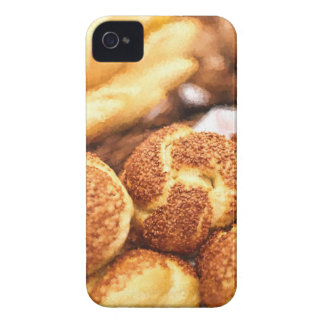 Fresh baked bread iPhone 4 Case-Mate cases