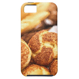 Fresh baked bread iPhone 5 cases