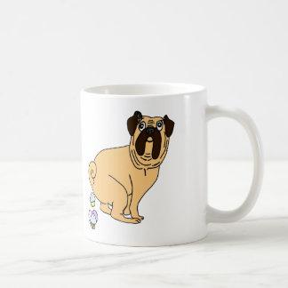 Fresh Baked Pug Poopin' Cupcakes Coffee Mug