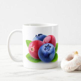 Fresh berries coffee mug