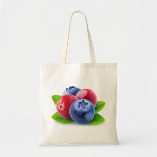 Fresh berries tote bag