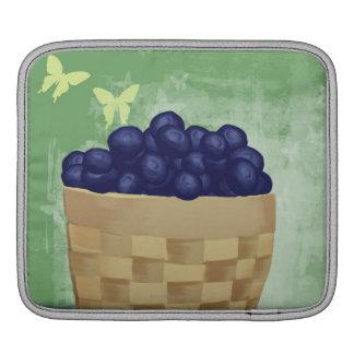 Fresh Blueberries iPad Sleeve