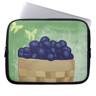 Fresh Blueberries Laptop Sleeve