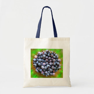 Fresh Blueberries Photography Tote Bag
