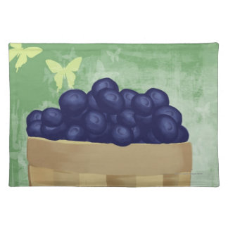 Fresh Blueberries Placemat