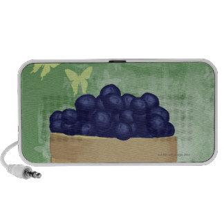 Fresh Blueberries Portable Speakers