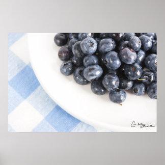 Fresh Blueberries Print