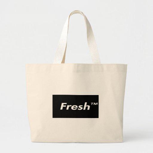 Fresh Box logo Tote Bags