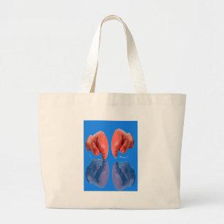 Fresh Boxing Glove coloring Blue Tote Bag