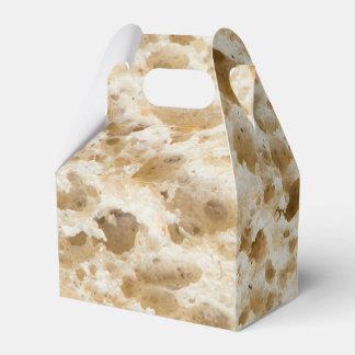 Fresh bread pattern party favour box