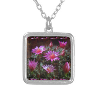 Fresh CACTUS Cacti Flower: Wild Exotic Floral Show Jewelry