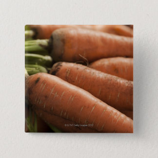 Fresh Carrots at the Union Square Greenmarket 15 Cm Square Badge