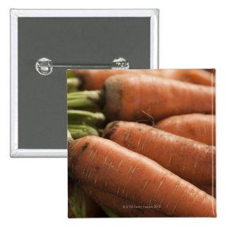 Fresh Carrots at the Union Square Greenmarket 15 Cm Square Badge
