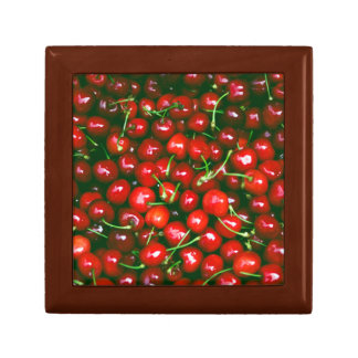 Fresh Cherries pattern Gift Box