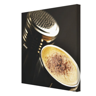 fresh coffee canvas print