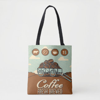 Fresh Coffee Tote Bag