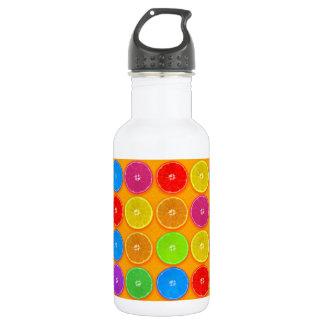 Fresh Colorful Orange Slices 532 Ml Water Bottle