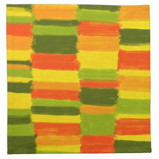 Fresh Colours NO 1 - material napkin 4er-Pack