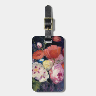Fresh Cut Spring Flower Luggage Tag