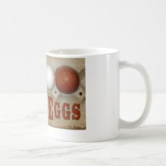 Fresh Eggs Basic White Mug