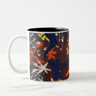 Fresh Eggs (Frosty) Two-Tone Coffee Mug
