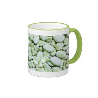 Fresh fava beans ringer mug