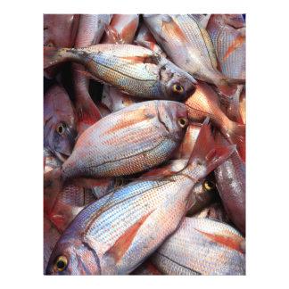 Fresh fish 21.5 cm x 28 cm flyer
