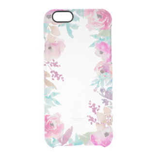 Fresh Floral Border Watercolor Case