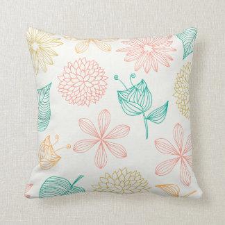 Fresh Floral Cushion