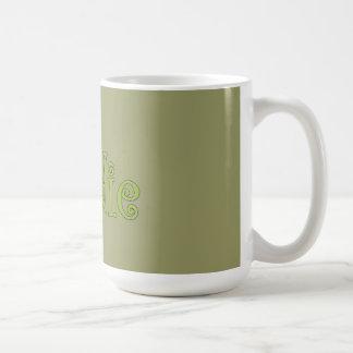 fresh foodie basic white mug