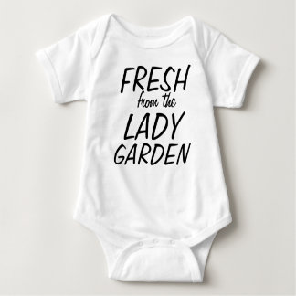 Fresh from the lady garden baby bodysuit
