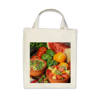 Fresh fruit and vegetables bag
