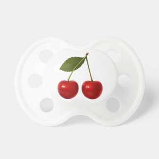 Fresh Fruit Cherries Baby Pacifier BooginHead Pacifier