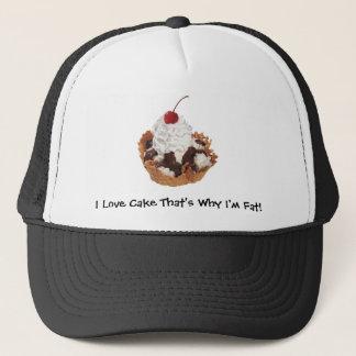 Fresh Fruit Cherry Dessert Hat