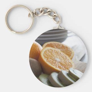 Fresh Fruit for Breakfast Keychain