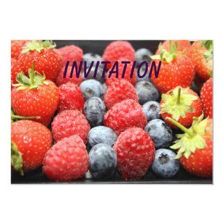 Fresh Fruit INVITATION