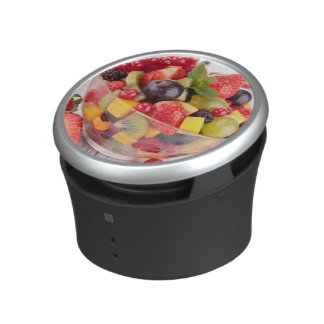 Fresh fruit salad bluetooth speaker