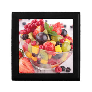 Fresh fruit salad gift box