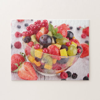 Fresh fruit salad jigsaw puzzle