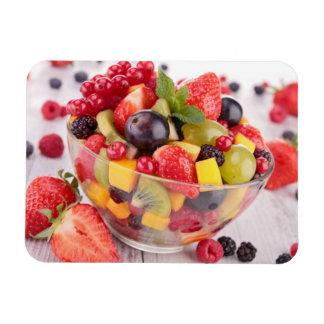 Fresh fruit salad magnet