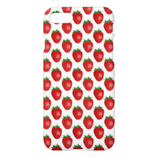 Fresh Fruit Strawberries Pattern iPhone 7 Case
