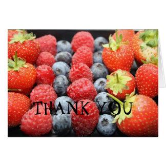 Fresh Fruit THANK YOU Card